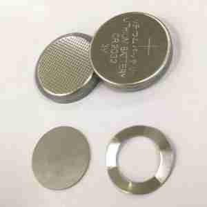 Coin cell case 316L SS