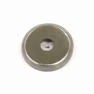 Punched anode case for In Situ coin cell